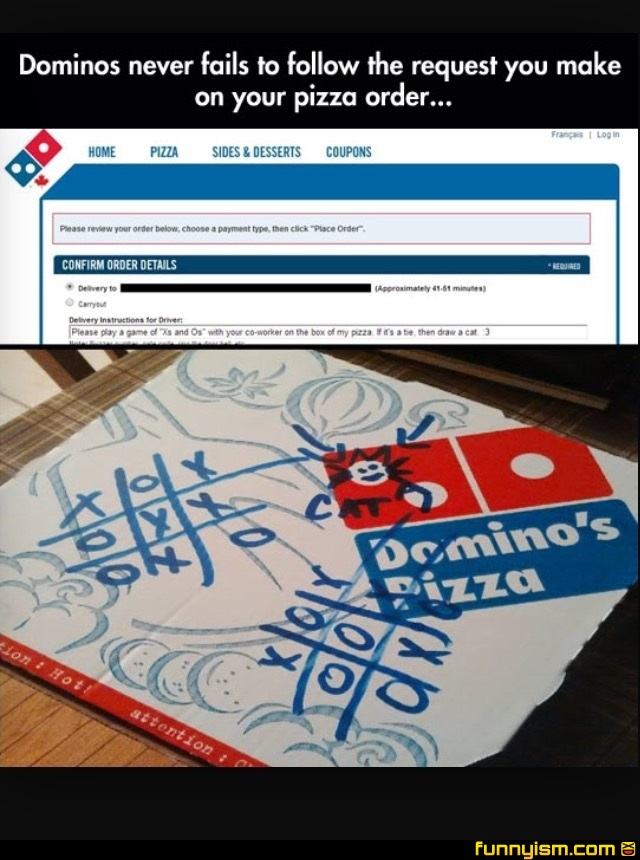 Dominos Never Fails Funny Pics Funnyism Funny Pictures