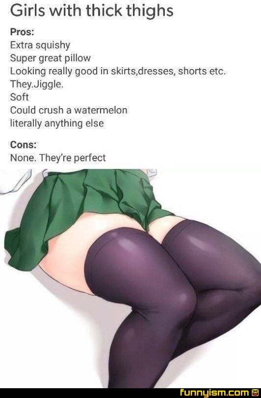 Thick Thighs Save Lives Funny Pics Funnyism Funny Pictures Online, the rhyming slogan is often paired with the phrase but thigh highs are my demise. funnyism