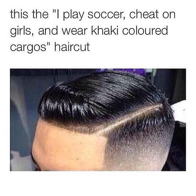 The soccer haircut funny pics funnyism funny pictures urmus Image collections