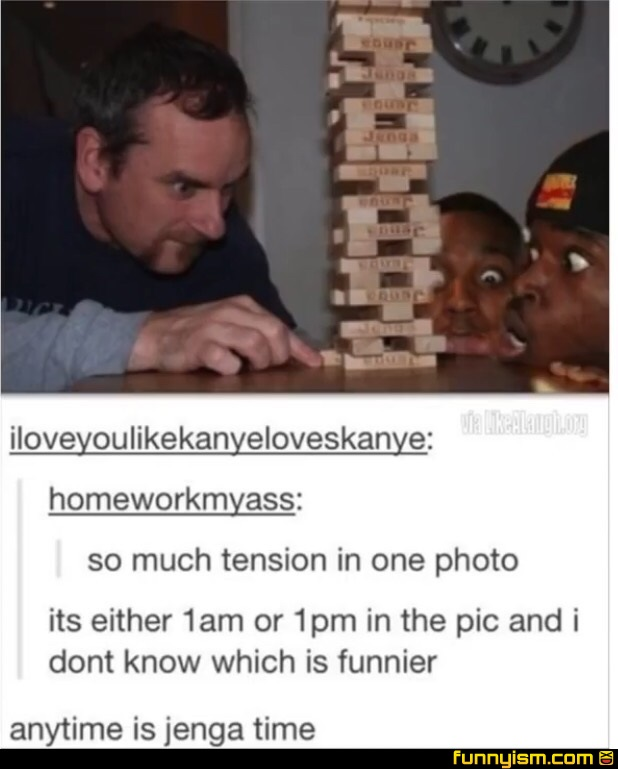 jenga funny pics funnyism funny pictures