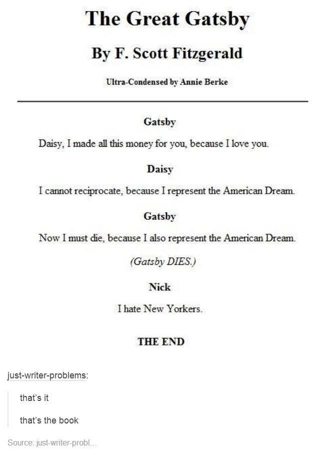 How Does Gatsby Represent The American Dream Essay