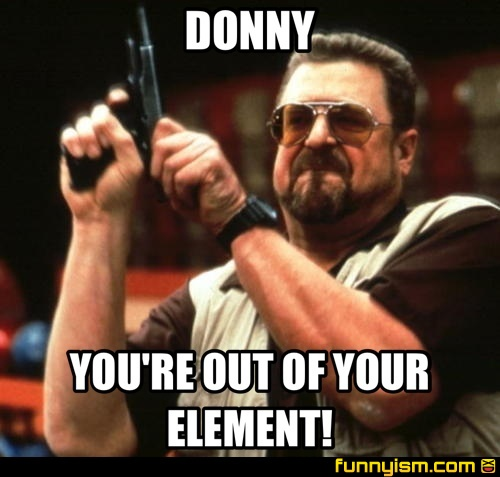 761d9d27 e668 468a 82f8 6c8460644860 donny you're out of your element! meme factory funnyism funny