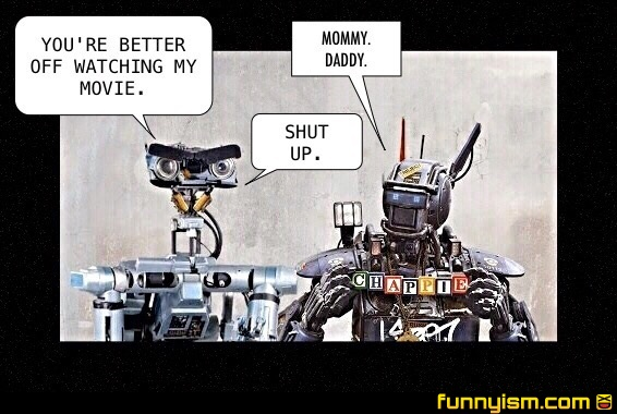 short circuit vs chappie funny pics funnyism funny pictures rh funnyism com