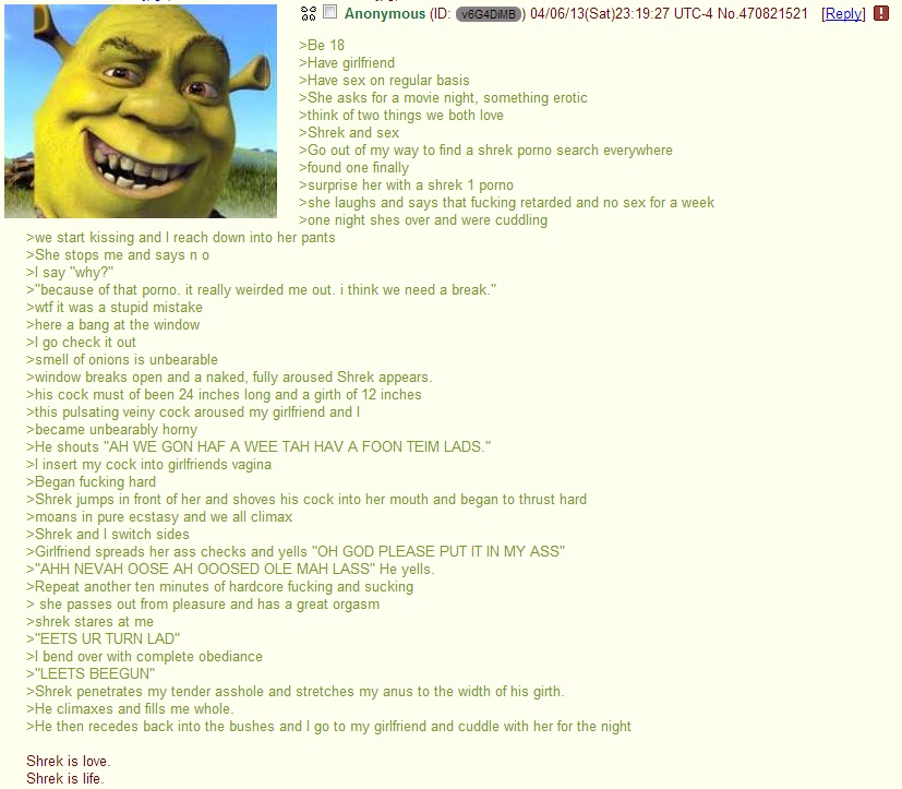 The Last Shrek Is Love Funny Pics Funnyism Funny Pictures