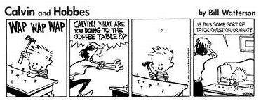 Calvin And Hobbes Coffee Table.Rhetorical Calvin Funny Pics Funnyism Funny Pictures