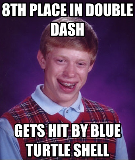 8TH PLACE IN <b>DOUBLE DASH</b> GETS HIT BY BLUE TURTLE SHELL | Meme Factory <b>...</b> - da4c7a3b-22be-4233-aaa8-707a61341096