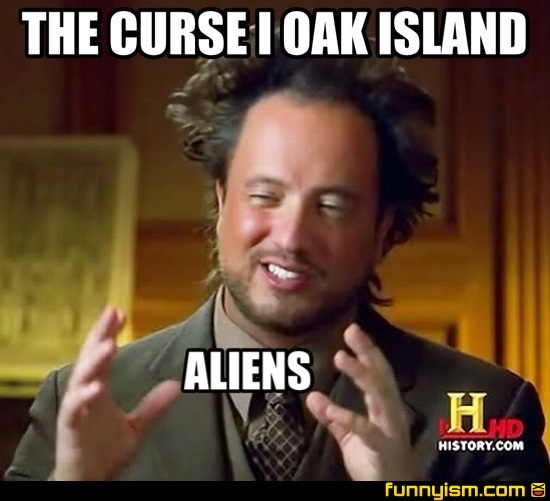 Curse Of Oak Island Comments